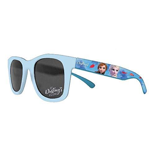 CARTOON GROUP Sonnenbrille Frozen II Disney Elsa Anna quadratisch mit UV400 Filter - WD21009/C