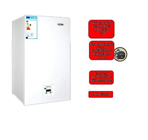 Kombitherme Gastherme Wandtherme Brennwerttherme Wasser+Heizung+Gas 35 kW 1 Heizkreislauf mit einem 3 Wegeventil