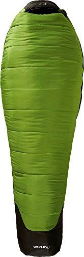 Nordisk puk-2º Schlafsack, Grün (Peridot Green), L