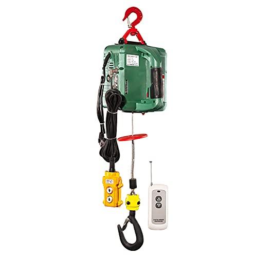 CHARON Polipasto eléctrico tres en uno, 220 V, velocidad Boost, 5 m/min,...
