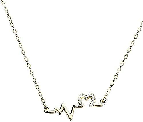 Yiffshunl Collar Cadena Collar Mujer Clavícula Cadena Collar Regalo