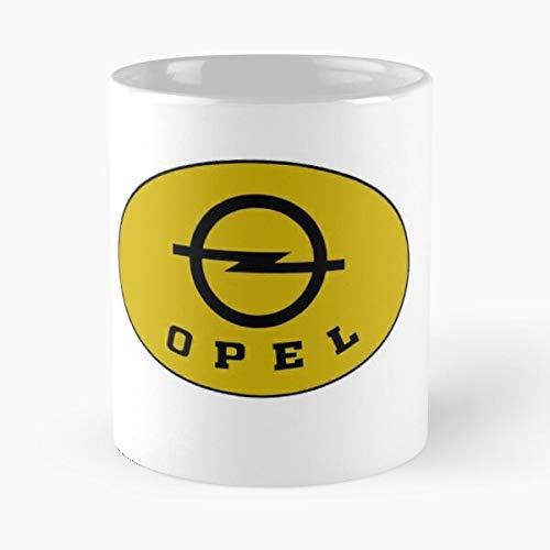 5TheWay Cars Opel Mug Best 11 oz Kaffeebecher - Nespresso Tassen Kaffee Motive