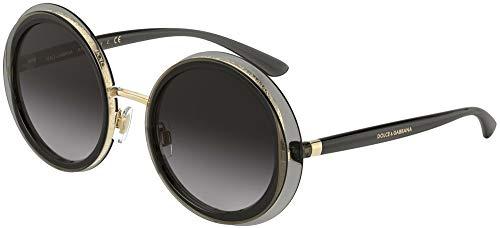 Dolce & Gabbana DOUBLE LINE DG 6127 GREY/GREY SHADED 52/22/140 Damen Sonnenbrillen
