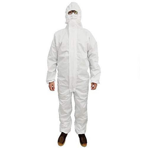 SHANGLY Einweg Overall Schutzanzug Sicherheit Isolation Arbeitskleidung Für Sprühfarbe,...