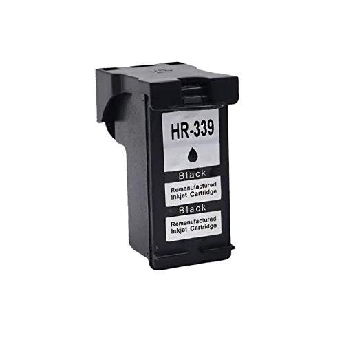 DYYPPWW Compatible 339 344 Cartucho de Tinta, Alto Volumen de Impresión Reemplazo,para HP Deskjet 5740 5940 6520 6205 6210 Impresora,Negro