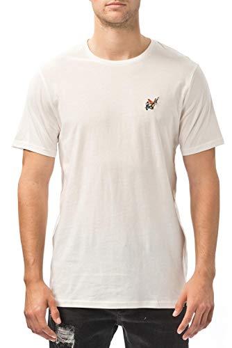 Globe gb41710001 T-Shirt, Enfants XXL Blanc
