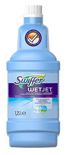 Swiffer WetJet Spray Mop Cleaning Solution 1.25 L (Pack of 4)