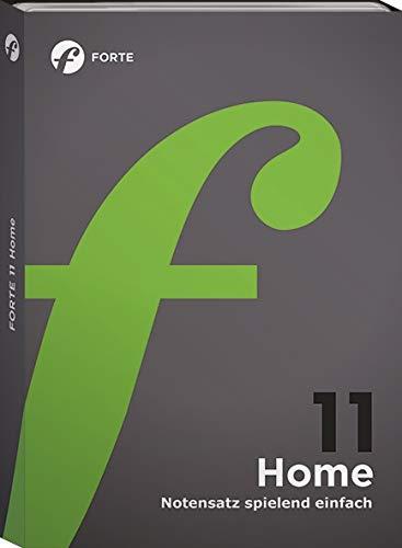Forte 11 Home - Notenschreibprogramm für Musiker
