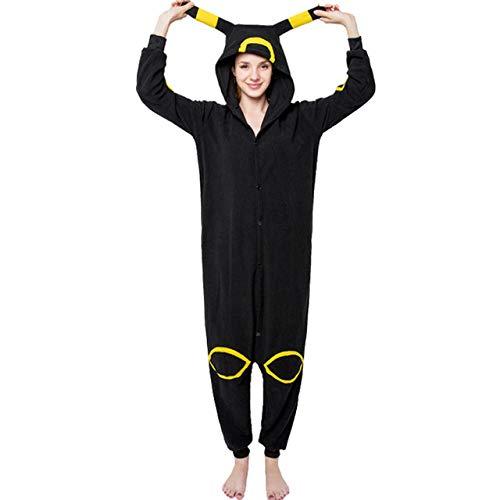JBDGNZ Pijama para Mujer, Pijama de Oso Animal de Dibujos Animados, Ropa para el hogar, Polar, Franela, Parejas para Pijamas, Mono de Cosplay de Halloween, Menta, L