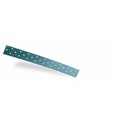 50 m Rolle Windrispenband Rispenband 40x2,0 mm Windrispe verzinkt Eisenband