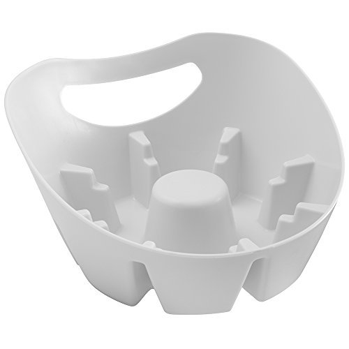 MAXClean Universal Plunger Holder Drip Tray - Fits ALL Plungers by Plumb Craft
