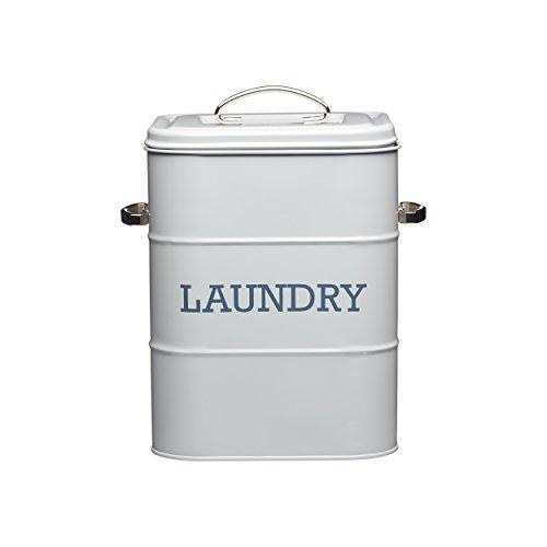 Living Nostalgia Laundry Seife Dose 27 cm, grau