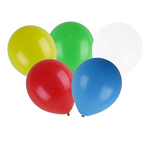 Palloncino luminoso con luce a LED, decorazione per matrimoni, 20 pezzi, oltre 24 ore, 30 cm, durata luminosa colorata compleanni, feste, compleanni dei bambini, di compleanno (senza interruttore)