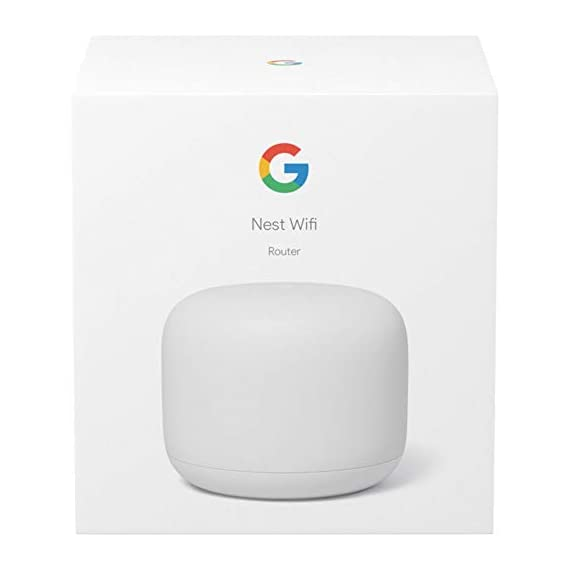 Google Nest Wi-Fi Router - 1-Pack (GA00595-US) with 2-Pack WiFi Smart Plug & Ethernet Cable 6 MEET the NEW NEST WiFi. Smarter Whole Home MESH Coverage   STRONG CONNECTION. EVERY DIRECTION. The Nest Wifi router and point work together to blanket your whole home in fast, reliable Wi-Fi and eliminate buffering in every room Parental permissions let you set schedules to manage screen time, restrict certain kinds of adult content, and pause Wi-Fi to specific devices whenever you want