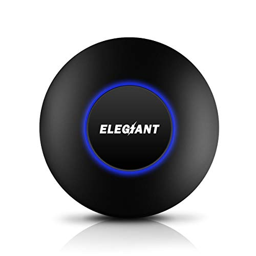 WiFi Display Dongle, ELEGIANT Wireless Screen Mirroring Adapter 1080P Video Receiver Mini Display Receiver HD AV Dual Output Support Airplay DLNA Miracast for iOS/Android/TV/Projector