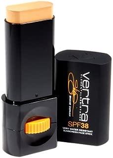 Vertra SPF 38 Sports Sunscreen Face Stick Kona Gold- Very Water Resistant11g NET WT.39 oz