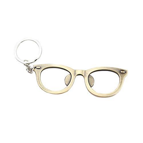 Fablcrew. 1 apribottiglie di birra a forma di montatura di occhiali, apribottiglie, regalo per festa, compleanno, matrimonio, portachiavi
