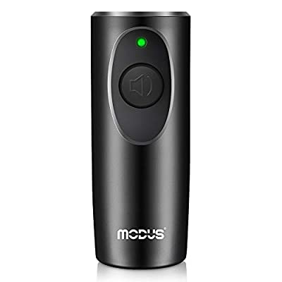 MODUS Anti Barking Device - Ultrasonic Dog Bark Deterrent, 2in1 Dog Bark Control Device, 16.4ft Wide Range, w/ Wrist Strap, LED Indicate, Portable Dog Trainer for Indoor Outdoor, Safe for Human & Dogs