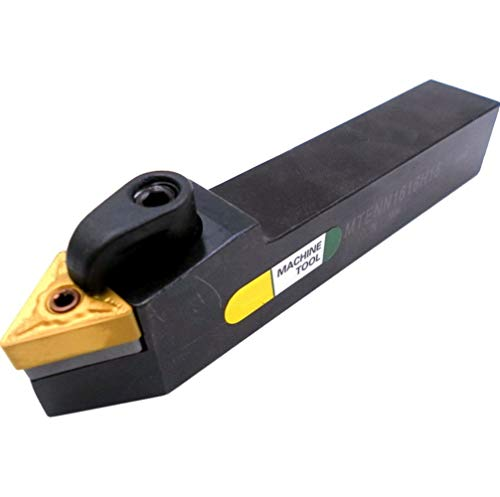 Herramientas de torneado 20mm 16mm MTENN Mecanizado Boring Cortador de Metal Duro TNMG Corte portaherramientas Externo Activación Porta-Herramienta CNC Torno Arbor (Size : MTENN2020K16)
