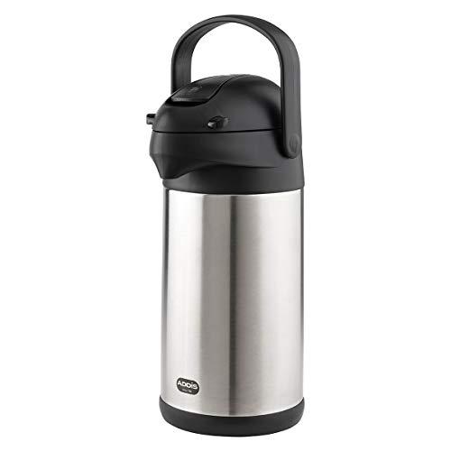 Emsa 637301600 President Pump-Isolierkanne | 3 Liter | 12 h heiß |...