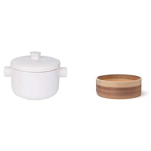 Casserole, casserole, soupe, cocotte en fonte, cocotte avec couvercle pour four Pyrex cocottes avec couvercles, cuisson vapeur en céramique haute température Noir 2,5 L