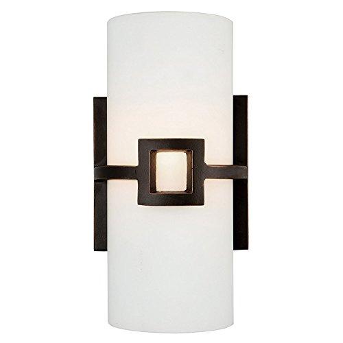 Design House 514604 Monroe 1 Light Wall Light, Oil Rubbed Bronze