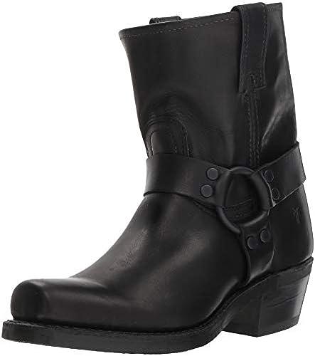 FRYE damen& 039;s Harness 8R Mid Calf Stiefel, schwarz, 11 M US