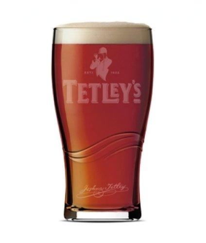 Tetley's pinte de bière