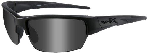Wiley X Schutzbrille WX Saint Im Set mit 2 Gläsern, Matt Schwarz, S/M, CHSAI07