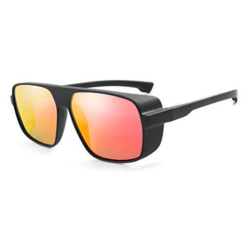Gafas De Sol Hombre Mujeres Ciclismo Gafas De Sol Unisex Cuadradas Vintage Sun Sunglases Gafas De Sol Retro Mujer Hombre-1-Kp1015-C6