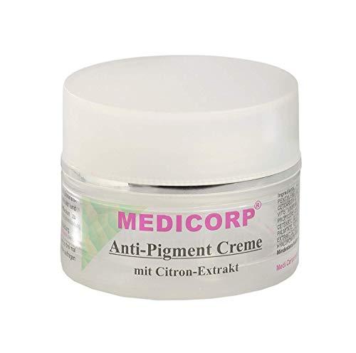 MEDICORP Pigmentcreme für Altersflecken und Sommersprossen, Flecken creme, Creme für dunkle Flecken (50 ml)
