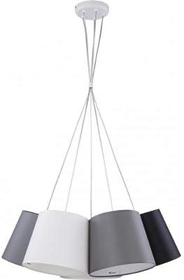 ec43c0a8df5a Kartell 9080B4 Ge - Lámpara de techo transparente (B4)  Amazon.es ...