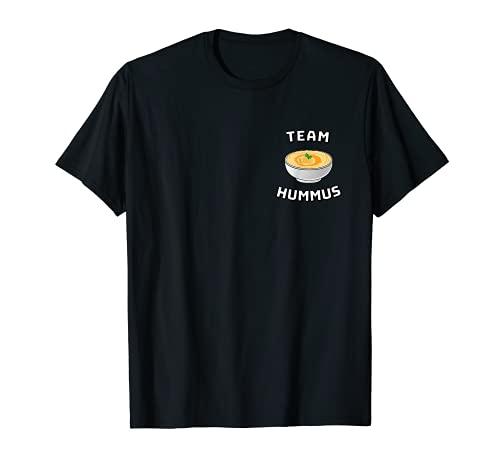 Team Hummus - Pizarra divertida con texto en alemán Camiseta