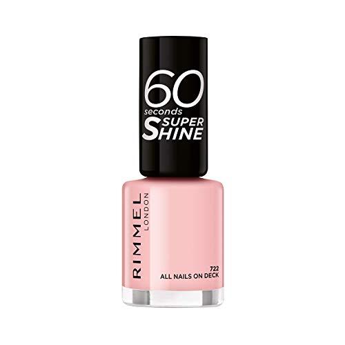 Rimmel 60 Seconds Super-Shine Nail Polish, All Nails On Deck