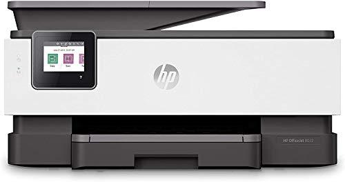 HP OfficeJet Pro 8022 - Impresora multifunción tinta, color, Wi-Fi, Ethernet, compatible con Instant Ink (1KR65B)