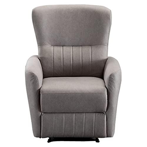 XUANHUO Recliner Chair Einzelsofa Lounge Mit Gepolstertem Sitz Und Liegefunktionen Wohnzimmersessel Für Home Office Cinema, Rise and Recline