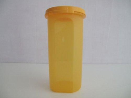 Tupperware - ZUBEREITEN 1a Tupper Kaffee-Pad-Dose EIDGENOSSE RUND - 650ml - orange