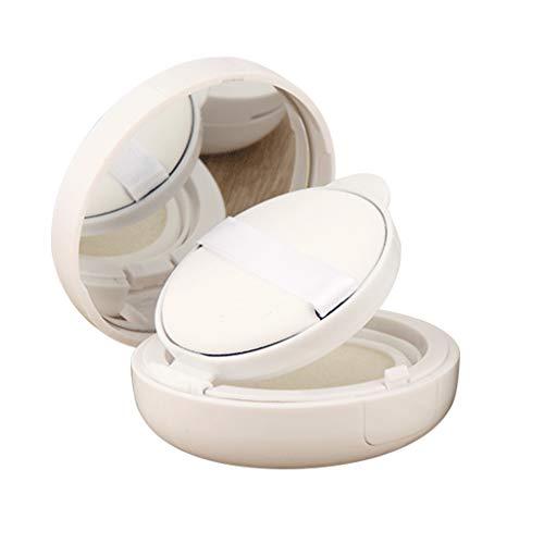 MB-LANHUA 15g / 0,5 Unzen Reiseflasche Leere Luftpolster Puff Box Tragbare Kosmetik Make-up Fall Container mit Puder Schwamm Spiegel für BB Cream Foundation