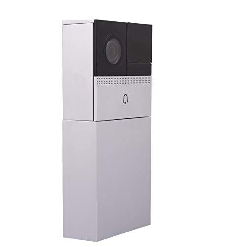 REV 0088627112 Ritter WiFi Video Türsprechanlage | Türklingel | Link2Home | WLAN Sprechanlage | Infrarot Kamera | Bewegungssensor |Aufnahmefunktion | Gegensprechfunktion | Doorbell | kabellos