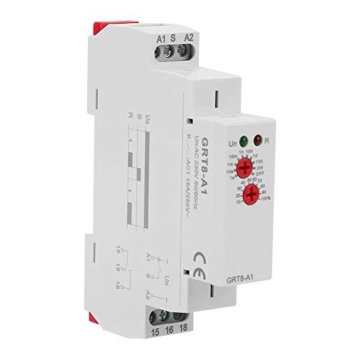 GRT8-A1 Mini módulo de relé de tiempo de retardo de