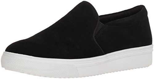 Blondo Women's Gracie Waterproof Sneaker, Black Suede, 8 M US