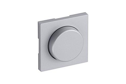 Meister Sigma stopcontact, kinderbeveiliging 1850 afdekking voor dimmer zilver