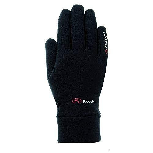 Roeckl Kinder Pino Jr. Handschuhe, Schwarz, 5
