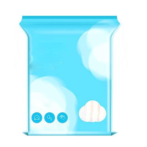 DUOER HOME Gesichtsmake-up Entferner Wattepad Reinigung Watte Gesicht Tiefenreinigung Entladen von Watte Wasser sparender Make-up-Entferner Baumwolle (Color : 1 Package)