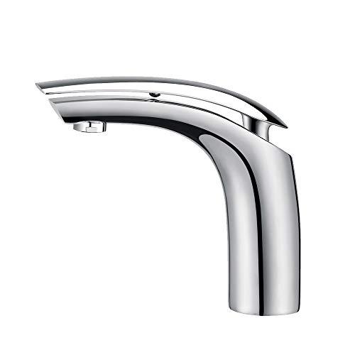 Homelody Chrom Wasserhahn Bad Armatur Waschbecken Mischbatterie Einhebelmischer Waschtischarmatur Waschtischmischer