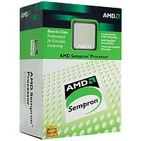 AMD Sempron 2800+ 1.6GHZ Sockel 754 Prozessor (2800+ 1.6GHz, Palermo,  256KB Cache, SKT 754, In-A-Box mit Kühler und 3 Jahren Garantie!!)