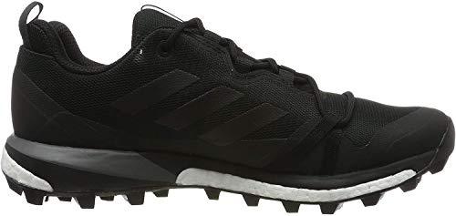 adidas Mens Terrex Skychaser LT Walking Shoe, Core Black/Core Black/Grey, 45 1/3 EU