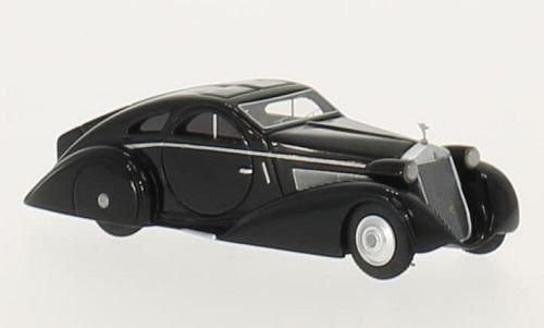 Rolls Royce Phantom I Jonckheere Coupe, schwarz, RHD, 1925, Modellauto, Fertigmodell, BoS-Models 1:87