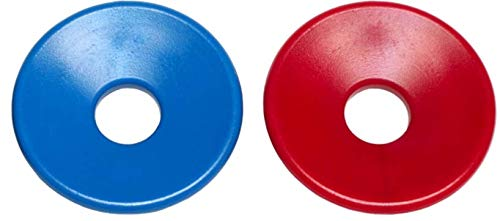 Ear Cushions, Red and Blue Set