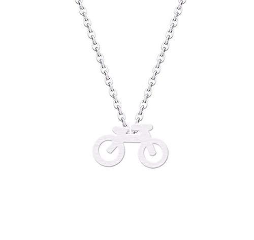 Halskette Mountainbike Charm Anhänger Halskette Kragen Minimalistischer Schmuck